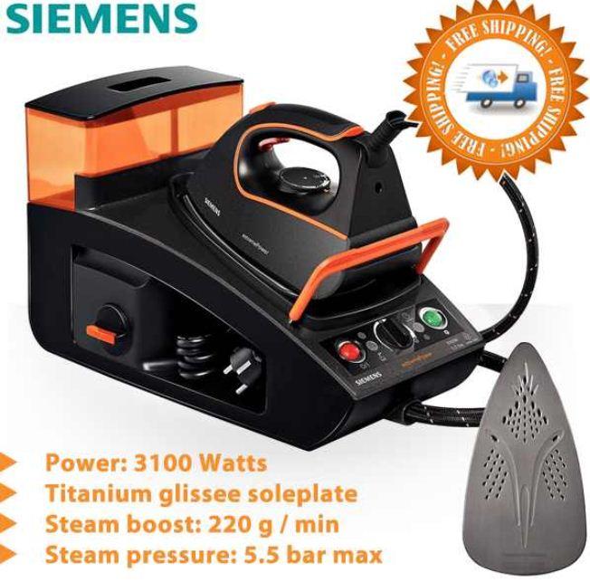 [iBOOD] Dampfbügelsystem: Siemens TS45XTRM Extreme Power (5,5 bar Dampfdruck) 169,95€