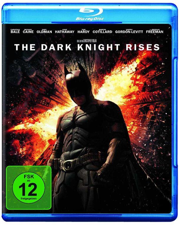 [Amazon] Blu ray: The Dark Knight Rises inkl. Versand 12,99€