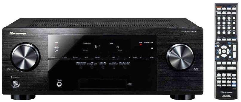 Wieder da! Pioneer VSX 827 K (7.1 AV Receiver mit AirPlay) nur 249€