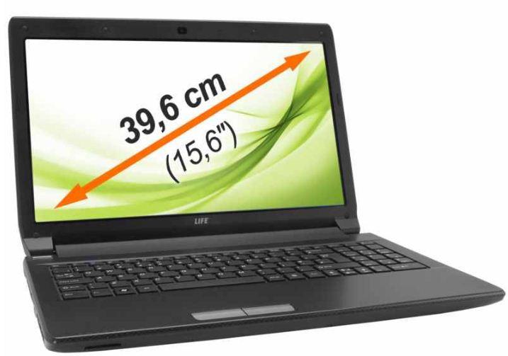 MEDION MD 99050 E6228, 15,6 Notebook mit i3, 2,4GHz, 4GB RAM, 750GB für 339,99€!