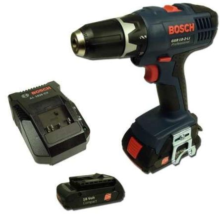 [ebay Wow] Akku Bohrschrauber: Bosch GSR 18 2 Li (1,3Ah) 2ter Akku, Ladegerät und Versand nur 149€