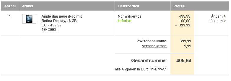 [BAUR.de] Update: Neuer 20% Neukunden Gutschein auf Alles (auch auf iPads, Mac, etc.)!