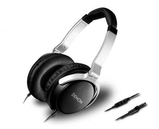 Denon AH D510R   On Ear Kopfhörer mit Mikrofon für 14,48€
