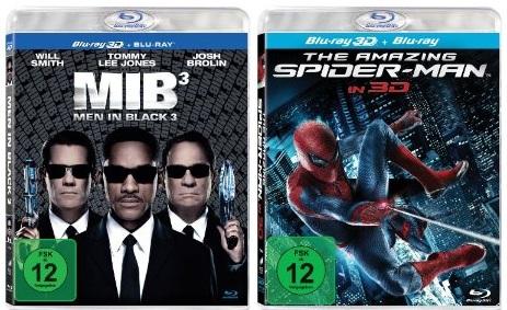 Zwei 3D Blu ray Schnäppchen