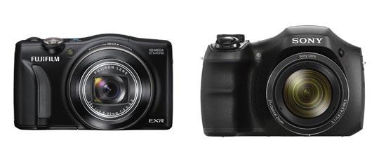 [Amazon Blitzangebote] Digitalkameras: Fujifilm FinePix F750EXR für 175€ und Sony Cyber shot DSC H100 für 179€
