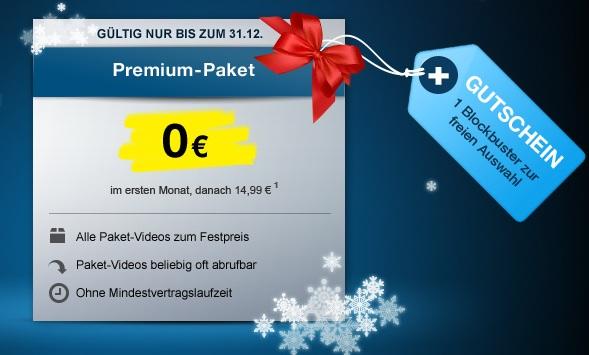 [Kostenlos!] 1 Monat Maxdome Premium Paket
