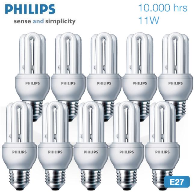 [iBOOD] Energiesparlampen: 10xPhilips 11Watt inkl. Versand 20,90€