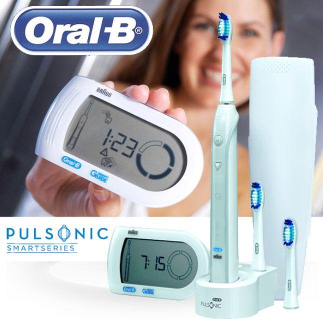eSchallzahnbürste: Oral B Pulsonic Smart Series mit SmartGuide inkl. Versand 60€