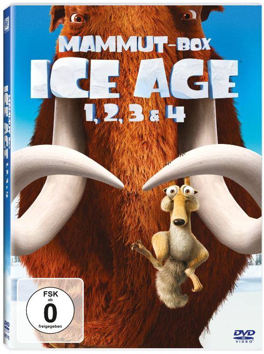 DVD Kult Boxen: Ice Age 1 4 inkl. Versand 19,99€ & Mr. BEAN mit Teddy (digital Remastered) für 23€!