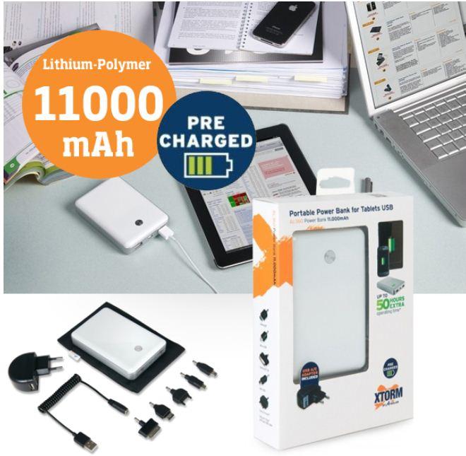 [iBOOD] 11.000 mAh: Xtorm Power Bank mit 2 USB Ports inkl. Versand 45,90€