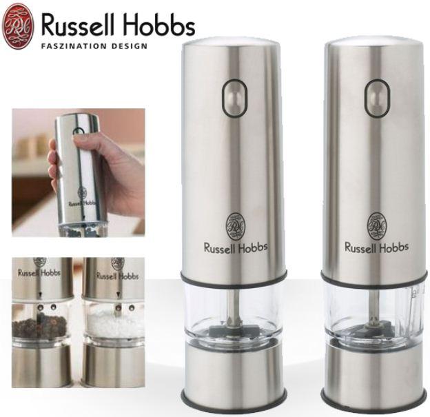 [iBOOD] Russell Hobbs: Set klassische Salz  und Pfeffermühle aus Edelstahl mit Beleuchtung inkl. Versand 25,90€