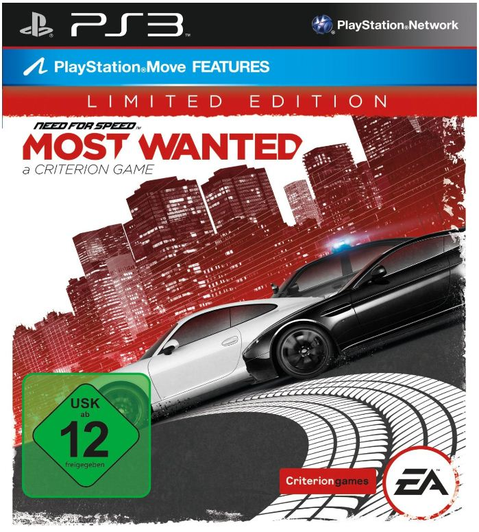 [Amazon] PS3 Game: Need for Speed   Most Wanted Limited Edition, inkl. Versand 33€!
