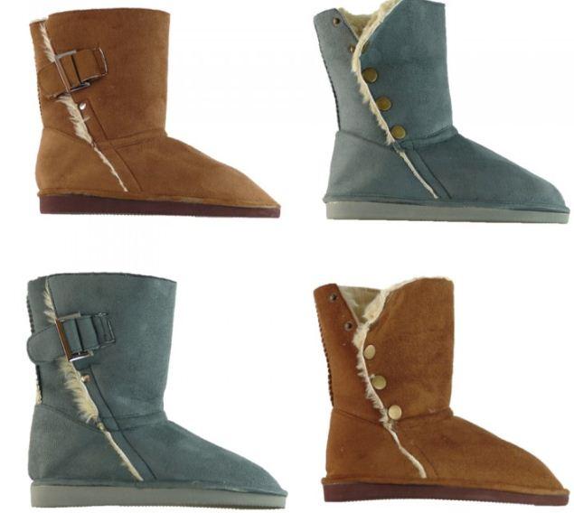 [ebay Wow] Damenschuhe: Dirx Schuhe (Stiefel, Yeti Boots, gefütterte Boots, Winterschuhe) inkl. Versand 16,99€