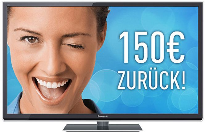 [Amazon] TV Deal des Tages: 55er Panasonic 3D Plasma TV (Full HD, 2000Hz ffd, DVB S/T/C, SmartTV) inkl. Versand dank Cashback 1.249€
