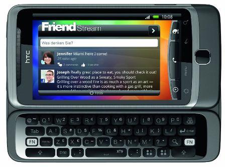 [ebay Wow] Android Smartphone: HTC Desire Z, 5MP inkl. Versand nur 229,90€