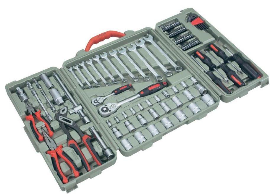 [ebay Wow] Werkzeugkoffer: Crescent 110teilig inkl. Versand 69,95€