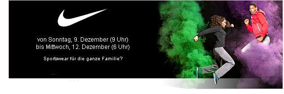 [Vente privee] NIKE Sale: Jetzt Rabatte auf jede Menge Sportswear für die ganze Familie!