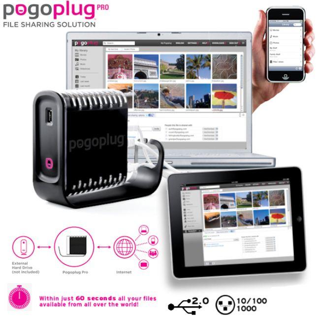 [iBOOD] UPDATE! Pogoplug: Multimedia Sharing Lösung ohne WLAN und 4 x USB, inkl. Versand 25,90€