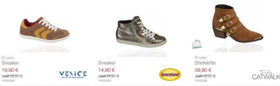 [Deichmann] Neue 50% Rabatt Aktion auf ausgewählte Schuhe!