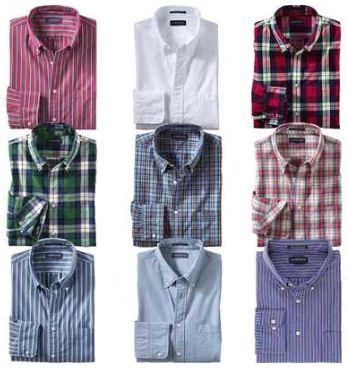 [ebay Wow] LANDS END: Herren Hemden, 9 verschiedene Modelle, inkl. Versand 19,95€!