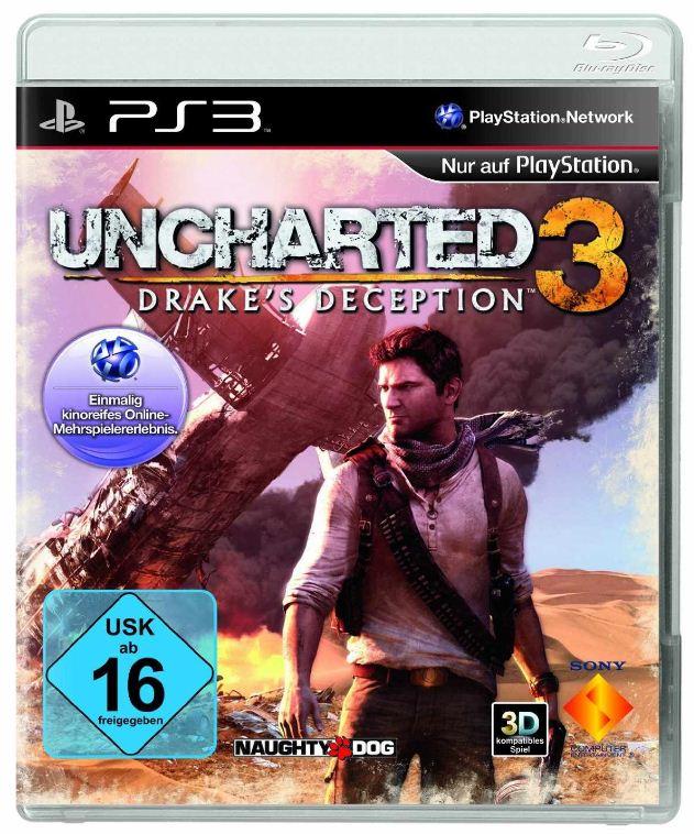[Amazon] Weihnachtliche Blitzangebote Games: Uncharted 3: Drakes Deception für PS3 inkl. Versand 19,97€! Schnell sein!