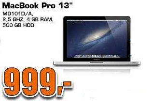 [Saturn Late Night Shopping] Hammer Angebote! MacBook Pro MD101D (Core i5 Prozessor, 4GB RAM, 500GB HDD) für 999€