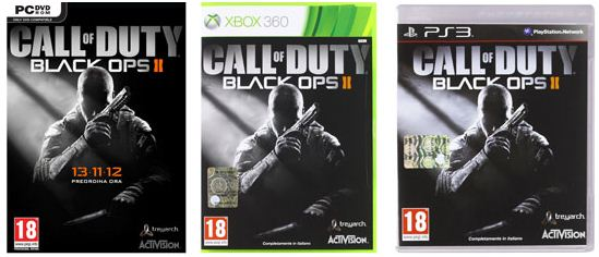 [Amazon.it] Games: Call of Duty: Black Ops II für PC   XBox   PS3 inkl. Versand ab 36,49€