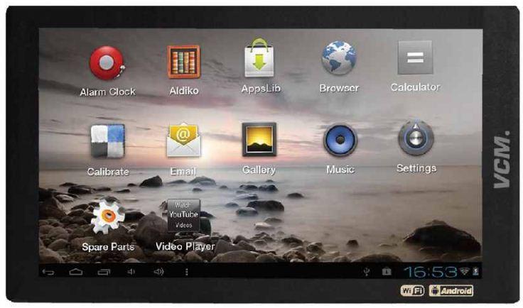 [ebay Wow] 7 Tablet PC: 17,78 cm, 16:9 WiFi, 8 GB Speicher, Android 4.0.3, inkl. Versand 79,99€