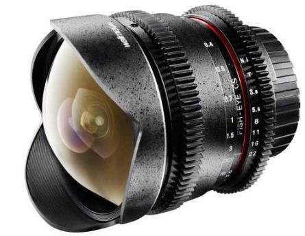[ebay] Foto und Video Objektiv: Walimex pro 3,8   8 mm C/AF Fish Eye für Canon, inkl. Versand 249€
