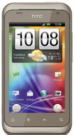 [ebay Wow] Android Smartphone: HTC Rhyme, 5MP Cam, inkl. Versand 199,90€