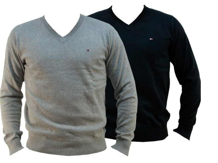 [ebay Wow] Herren Pullover: Tommy Hilfiger Pacific TH, V Neck inkl. Versand 38,90€