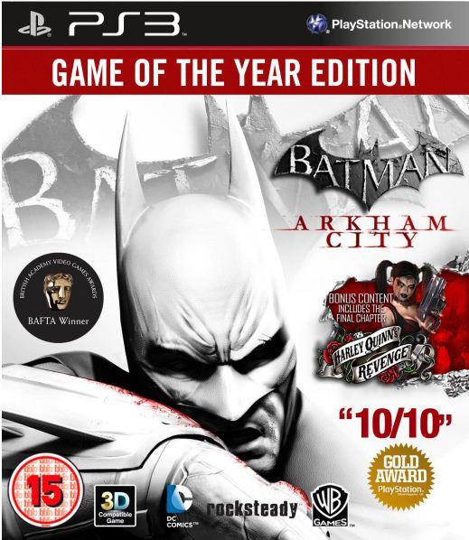 [Zavvi] Mega Monday! BATMAN Arkham City: Game für PS3   XBox   PC inkl. Versand nur 19,39€!