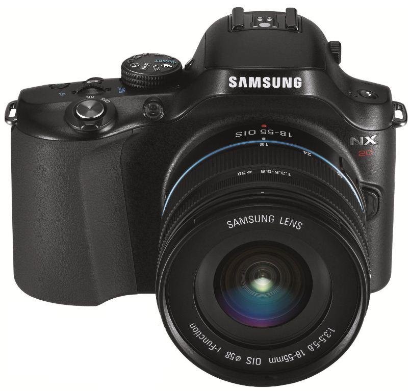 [Amazon Blitzangebote] Jetzt! Samsung NX 20 Systemkamera 20 Megapixel, inkl. Versand 679€