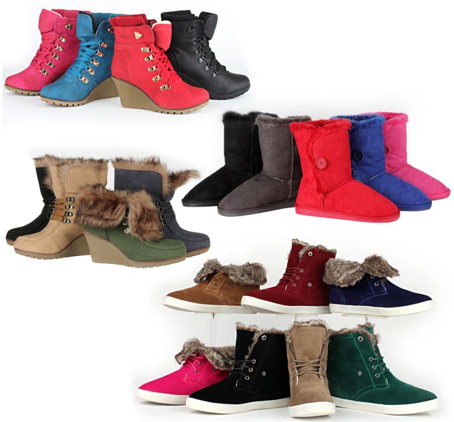 [ebay Wow] Tip! Damen: Stiefel, Stiefeletten und Yeti Boots, je inkl. Versand 19,90€