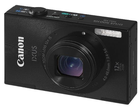 Canon IXUS 500 HS   10MP Digitalkamera für 83€