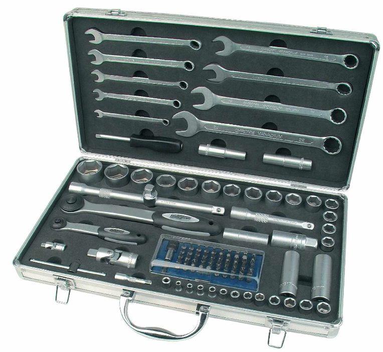 [ebay] Steckschlüssel Werkzeugsatz: Mannesmann 29105 inkl. Versand 39,99€ (Vergleich 74€)