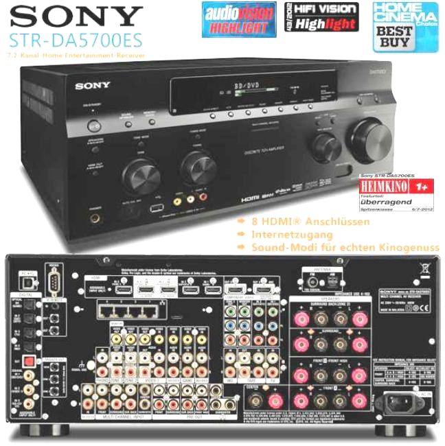 [iBOOD] Knaller! Netzwerk AV Receiver: Sony Home Entertainment System inkl. Versand 1.208,90€ (Vergleich 2.098€)