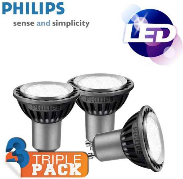 [iBOOD] LEDspot: 3er Pack Philips MASTER MV (3 35W, GU10, 3000K) inkl. Versand 25,90€