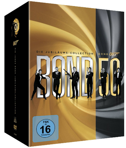 [Amazon UK] James Bond The Complete Collection [22 DVDs] inkl. Versand 56€!
