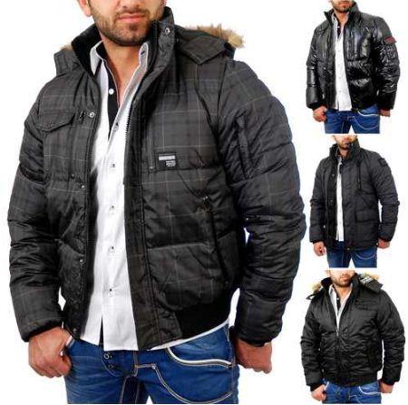 [ebay Wow] Herren Winterjacke: RBC by CIPO & BAXX 4 verschiedene Modelle, inkl. Versand je 44,44€