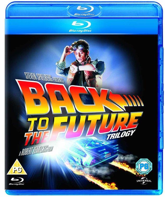 [Amazon UK] Blu ray: Zurück in die Zukunft, die Triologie, inkl. Versand 13,05€
