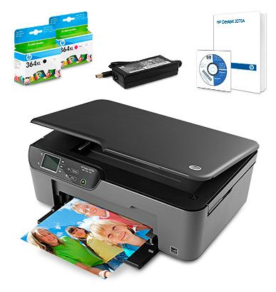 [Druckerzubehoer] All in One Multifunktionsgerät: HP Deskjet 3070A e (Scanner, Kopierer und Drucker) inkl. Versand 54,94€