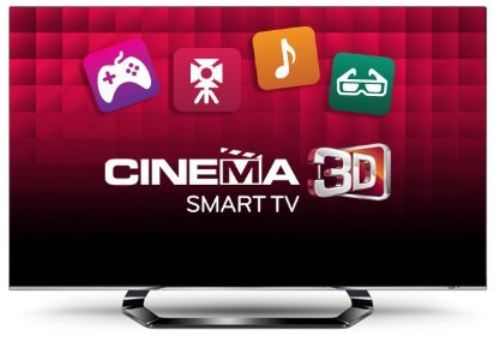 [Amazon] 47er Cinema TV Deal des Tages: LG 47LM660S 119 cm (Full HD, 400Hz MCI, DVB T/C/S2, Smart TV, HbbTV) inkl. Versand 849€