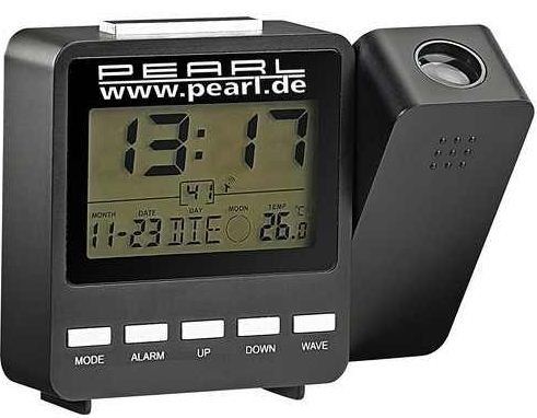 [ebay Wow] Funk Projektions Wecker: PEARL DAC 662 beam mit Temperaturanzeige inkl. Versand 6,90€