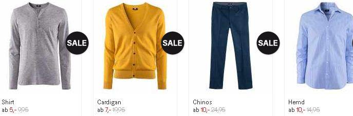 [H&M] Update! Hammer SALE Aktion: Schlussverkauf jetzt mit bis zu 70% Rabatt! Gutscheine: 25% Rabatt und 5€!
