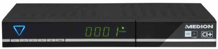 [ebay Wow] SAT Receiver: MEDION MD 26078 P24030 HD (HD+ Karte, EPG, USB Recording) inkl. Versand 69,99€