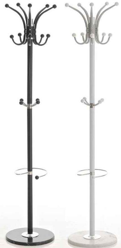 [ebay Wow] Garderobenständer mit Marmorplatte und Kleiderhaken (weiß oder schwarz) inkl. Versand 14,90€