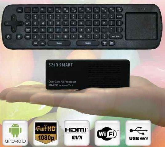 Android 4.1 Mini PC, MK808 RC12, Touchpad mit 8GB, 1,6GHz Dual Core, USB für 79,90€