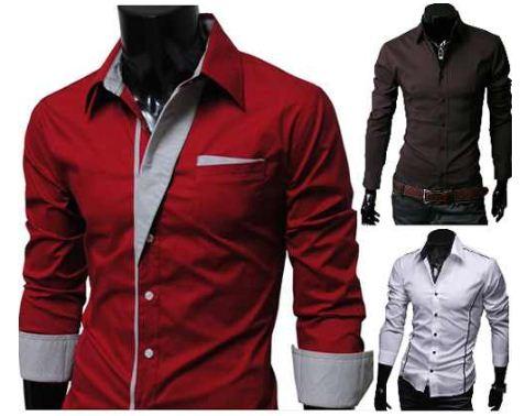 merish herren hemden 6 modelle von s bis xxl slim fit. Black Bedroom Furniture Sets. Home Design Ideas