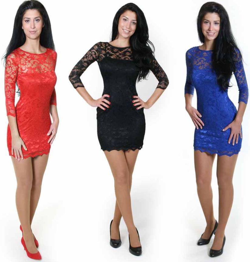 [ebay Wow] Sexy Minikleid in 3 verschiedenen Farben, je inkl. Versand 19,90€